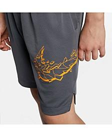 Big Boys Logo-Graphic Training Shorts