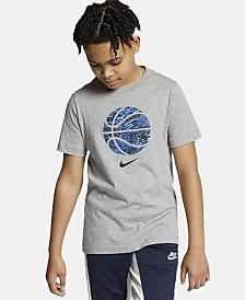 Nike Big Boys Elite Pod Fill Basketball Logo T-Shirt