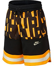 Big Boys Nike Air Colorblocked Mesh Logo Shorts