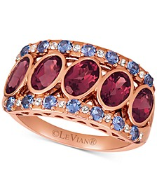 Multi-Gemstone Statement Ring (3-1/4 ct. t.w.) in 14k Rose Gold