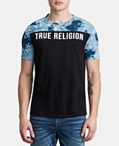 ceaa8fa70e5ee True Religion Men s Pattern Blocked Logo T-Shirt