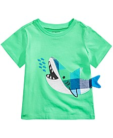 First Impressions Toddler Boys Graphic-Print Cotton T-Shirt, Created for Macy's