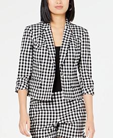 I.N.C. Gingham Jacket, Created for Macy's