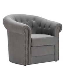 Finch Westport Tufted Club Chair, Quick Ship