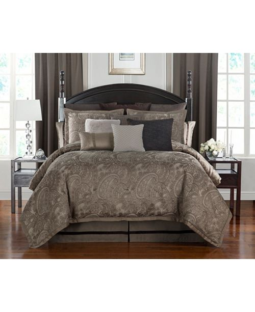 Waterford Glenmore Mink King Comforter Set