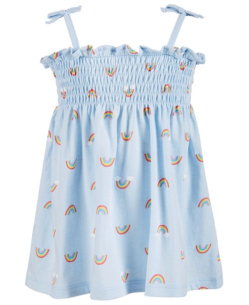 First Impressions First Impression's Baby Girl's Snack Dress, Created for Macy's