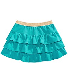 Epic Threads Little Girls Solid Tiered Skirt, Created for Macy's