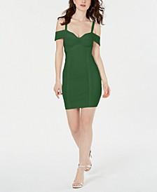 Mirage Cold-Shoulder Bandage Dress
