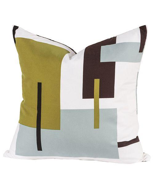 "Siscovers Reconstruction 26"" Designer Euro Throw Pillow"