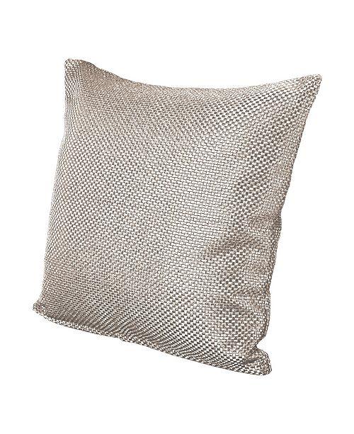 """Siscovers Silk Route Lotus 26"""" Designer Euro Throw Pillow"""