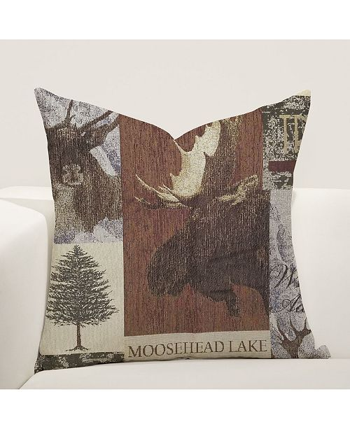 "Siscovers Pine Lodge 26"" Designer Euro Throw Pillow"