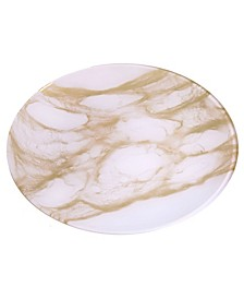 "Set of 4 Marble 8.25"" Plates"