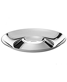Stainless Steel Chip 'N' Dip Bowl
