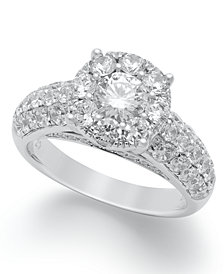 Diamond Engagement Ring in 14k White, Rose or Yellow Gold (2 ct. t.w.)