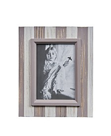 """Distressed Wood Plank 5"""" x 7"""" Picture Frame"""