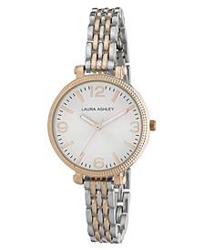Ladies' Two-tone Link Bracelet Watch