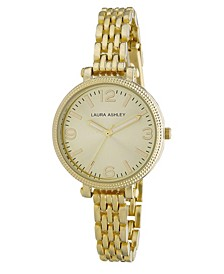 Ladies' Goldtone Link Bracelet Watch