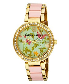 Ladies' Pink Summer Duck Egg Dial Watch