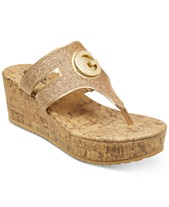 2e7138ac01 G by GUESS Gandy Wedge Sandals