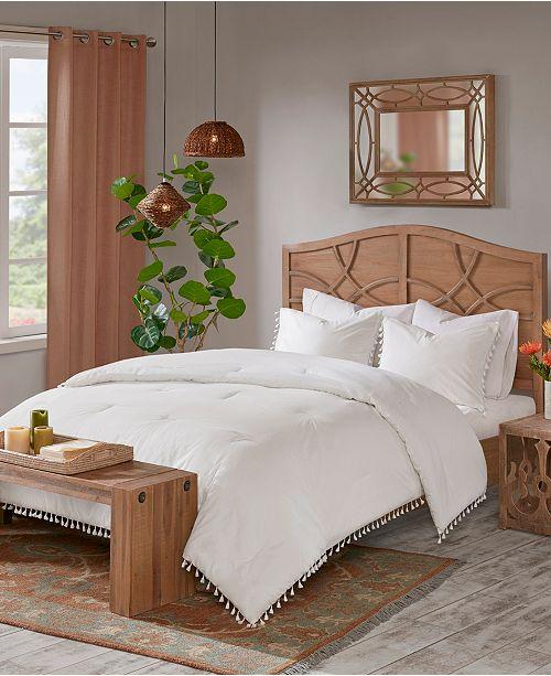Madison Park Lillian King/California King 3 Piece Cotton Comforter Set
