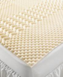 CLOSEOUT! Home Design 5 Zone Memory Foam Mattress Toppers
