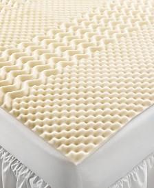 CLOSEOUT! Home Design 5 Zone Memory Foam Twin XL Mattress Topper