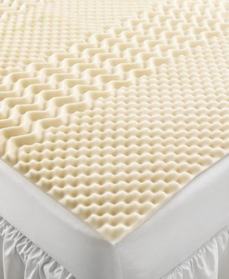 CLOSEOUT! Home Design 5 Zone Memory Foam Full Mattress Topper