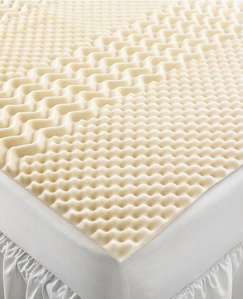 Home Design Closeout 5 Zone Memory Foam Twin Xl Mattress Topper