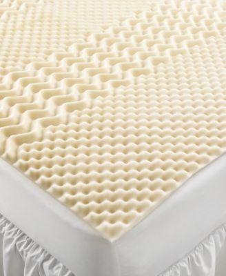 home design 5 zone memory foam king mattress topper