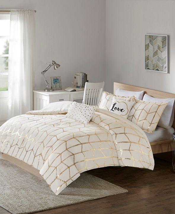 Intelligent Design Raina King/California King 5 Piece Comforter Set