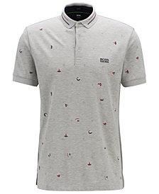 BOSS Men's Paddy 7 Regular-Fit Cotton Polo Shirt