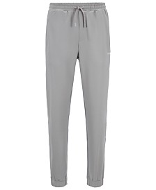 BOSS Men's Hicon Slim-Fit Jersey Trousers