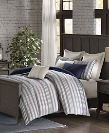 Madison Park Signature Farmhouse King 9 Piece Comforter Set