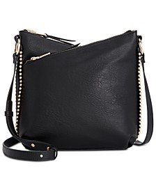 INC Valliee Double Zip Crossbody, Created for Macy's