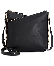 I.N.C. Valliee Double Zip Crossbody, Created for Macy's
