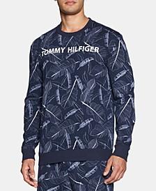Modern Essentials Printed Long-Sleeve Sweatshirt