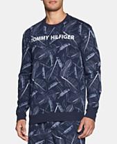 6c3b7ccd42b5c Tommy Hilfiger Modern Essentials Printed Long-Sleeve Sweatshirt