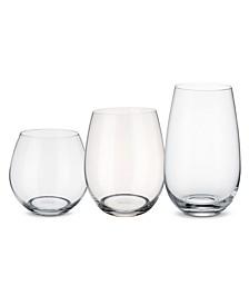 Entrée Stemless Wine 12 Piece Set