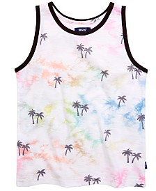 Univibe Big Boys Paulo Tie-Dyed Palm Tree Tank