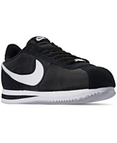 sports shoes 25673 15386 Nike Men s Cortez Basic Nylon Casual Sneakers from Finish Line