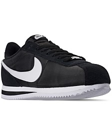 Nike Men's Cortez Basic Nylon Casual Sneakers from Finish Line