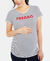 75a7013fd Graphic Tee Maternity Clothes For The Stylish Mom - Macy's