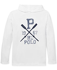 Polo Ralph Lauren Big Boys Logo Graphic Hooded Cover-Up