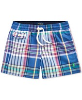 ced62a0eb2 Polo Ralph Lauren Little Boys Traveler Swim Trunks