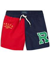 319efcac65ed9 Polo Ralph Lauren Little Boys Colorblocked Swim Trunks
