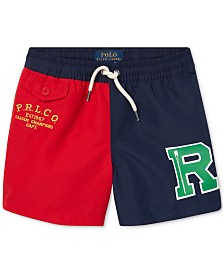 Polo Ralph Lauren Little Boys Colorblocked Swim Trunks