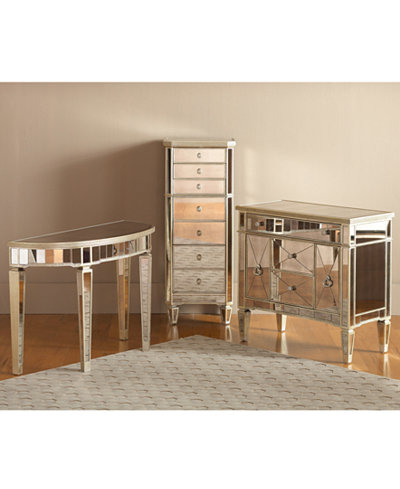 Marais Accent Furniture Collection, Mirrored