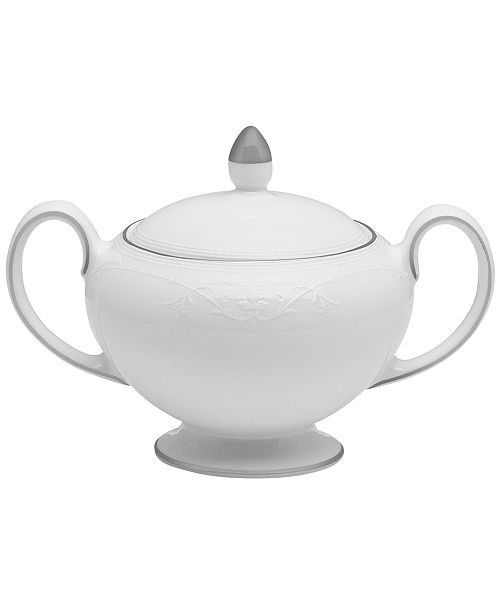 Wedgwood English Lace Covered Sugar Bowl