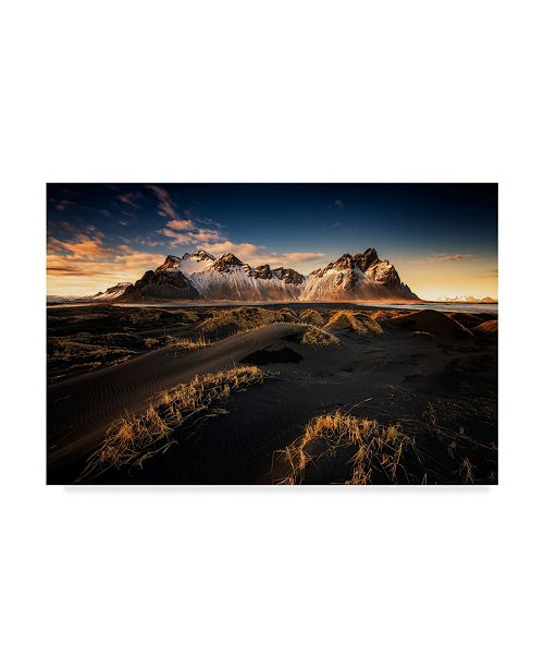 "Trademark Global David Martin Castan 'Iceland Mountain' Canvas Art - 47"" x 30"" x 2"""