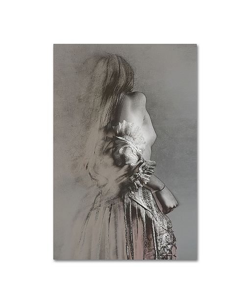"Trademark Innovations Olga Mest 'Sketching Feminity' Canvas Art - 47"" x 30"" x 2"""